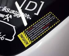 AUTOVERKAUF Sticker Kaufvertrag 30K 30.000 Autohändler Verkauf JDM DUB Aufkleber