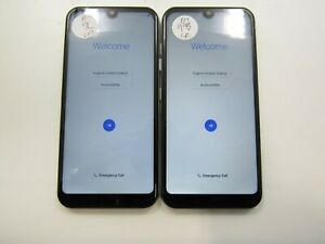 Lot of 2 LG Tribute Monarch K300TM Boosted Mobile Check IMEI GLC AD-129