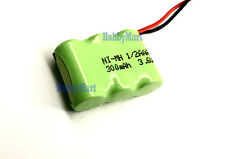 3.6V Ni-MH AAA 1/2 300mAh Replacement Home Phone Battery w/. Universal Connector