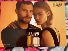 HUGO BOSS ~ THE SCENT FOR HIM +  FOR HER ~ POSTKARTEN  MIT DUFTPROBEN. NEU