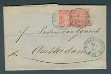 Breckerfeld   auf NDP Beleg Auslandsbrief Amsterdam