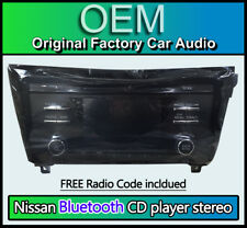 Nissan Qashqai car stereo, Bluetooth CD player, 28185 4CG0D, CQ-JN44G44D