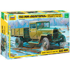 "ZVEZDA 3574 Model Kit ""Soviet Truck 1,5t (mod. Of 1943 year) GAZ-MM"""