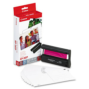 """CANON SELPHY KP-36IP ORIGINAL INK AND 36 SHEETS OF 6"""" x 4"""" PAPER  - 7737A001AA"""