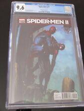 Spider Men II #2 Gabriele Dell'Otto 1:25 hard to find variant  CGC 9.6