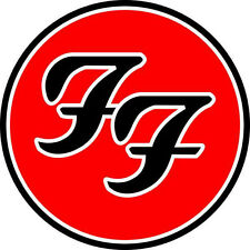 "2"" Foo Fighters Decal Sticker Car Truck Window Bumper USA tool box Concert Music"