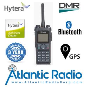 Hytera PD982i Portable Radio Digital (DMR) Analog (Wide-Band) UHF (350-527MHZ)