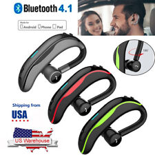 Handsfree Earpiece Bluetooth Headset Wireless Earphone with Mic for Cell Phones