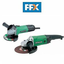 Hitachi Angle Grinder Twin Pack 115mm and 230mm 240 Volt