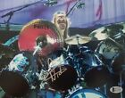 NICKO MCBRAIN IRON MAIDEN 8x10 inch SIGNED PHOTO BECKETT BAS COA