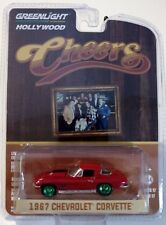 Greenlight 44770-B Cheers Sam's 1967 Chevrolet Corvette 1:64 Scale RARE Chase