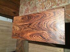 Zebrano Massivholz Waschtischplatte