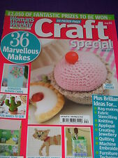 WOMAN'S WEEKLY CRAFT SPECIAL MAGAZINE MAY 2012 36 MAKES HEIRLOOM QUILT BOOTEES