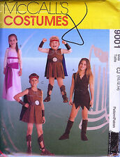 Roman Boys Girls Costume McCall's Sewing Pattern # 9001 Child's Size 10 12 14