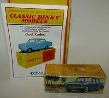 Atlas Dinky Replica No 540 Opel Kadett  - Sealed & COA