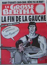 LA GROSSE BERTHA N° 57 de FEVRIER 1992 HONORE JACK LANG DECORE STALLONE