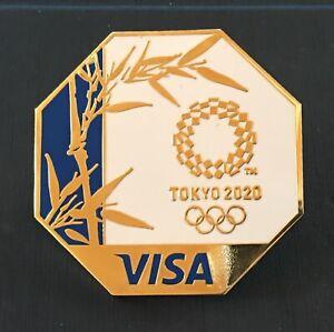 TOKYO 2020 OLYMPIC PINS -  VISA SPONSOR PIN .
