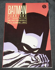 1988 Batman Year One Graphic Novel TPB Frank Miller VF-NM