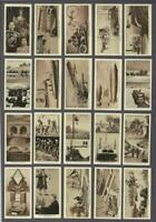 1937 Stephen Mitchell Wonderful Century Tobacco Cards Complete Set of 50