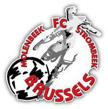 Molenbeek Brussels FC Belgium Soccer Football Car Bumper Sticker Decal 5'' x 5''