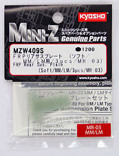 Kyosho Mini Z MZW409S FRP Rear Sus. Plate (Soft /MM /LM /3pcs /MR-03)