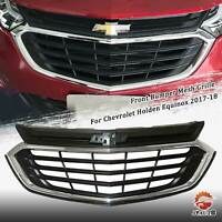 Front Grille Upper Grill For Chevrolet Equinox 2018 2019 2020 Chrome & Black