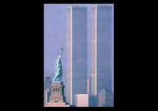 Poster: LIBERTY PREVAILS World Trade Center w Statue of Liberty 2001 Wall POSTER