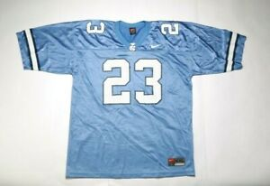 VINTAGE 2002 NIKE College Football Replica Jersey NJRE0498923H (UNC) 23 Blue