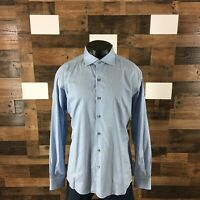 Ermenegildo Zegna Men's Size 3XL Striped Long Sleeve Button Down Shirt