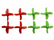 Apex RC Products Inductrix / FPV / E10 Red CW CCW Props -2 Sets #9060GR