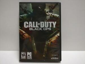 PC Game Call Of Duty Black Ops 2010 USA DVD ROM Windows Disc w/ Booklet (GA391)