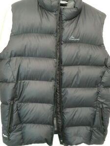 MacPac New Zealand Pertex Down Vest, Mens 2XL Tall, super thick, puffy, warm
