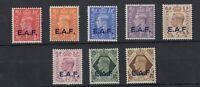 Somalia EAF KGVI 1943 Set To 1/- SG1/8 MH JK772