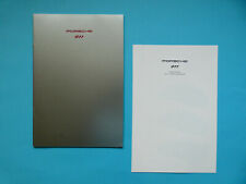 Prospekt / Katalog / Brochure Porsche 911 (964) Carrera 2 + 4 und Turbo  08/91