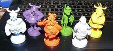 lot de 6 figurine astérix RARE MONOCHROME obélix chef etc UDERZO GOSCINNY