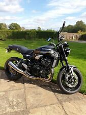 kawasaki z900rs in spark black, 2019, 954 miles, immaculate condition.