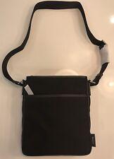 Bally Black Tuston Leather and Nylon Messenger Bag