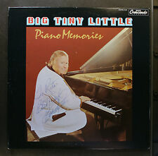 (LP) BIG TINY LITTLE  - Piano Memories / VG+/VG+ / Autographed