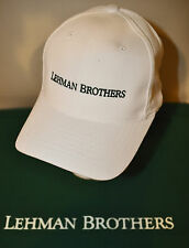 LEHMAN BROTHERS ~ SPORTS CAP ~ BASEBALL CAP ~ EMBROIDERED ~ NEW!