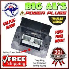 50 Amp Anderson Plug FLUSH PANEL DASH Mount Mounting Dust Cover Bracket Holder