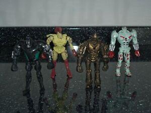 4 Real Steel Robot Boxing figures