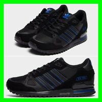 Adidas ZX 750 Mens Trainers Size 6 7 8 9 10 11 12 13 Limited Edition Shoes Black