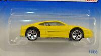 Hot Wheels 1995 Model Series 10 Yellow Ferrari 355 Car 13338 350 5 Dot New