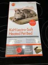 "K&H Pet Products Lectro-Soft Heated Pet Bed 14"" X 18"" New In Box.  Free Shipping"