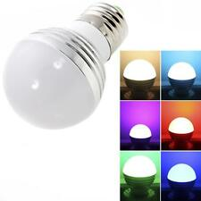 New E27 3W 85-265V Magic RGB Color Changing LED Light Bulb with Remote Control