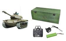 RC carro armato WALKER BULLDOG ingranaggi in metallo + catene colpi, fumo + Sound 23045