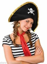 Complementos de piratas de fieltro para disfraces y ropa de época