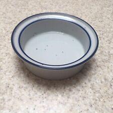 Dansk Blue Mist Bowls With Rim