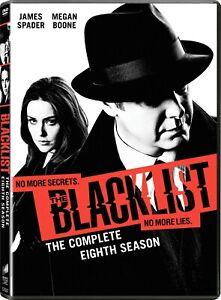 THE BLACKLIST Season Eight (2020-2021) DVD