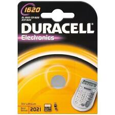 Pile bouton Duracell CR1620  3V LITHIUM DL1620